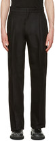 Calvin Klein Collection Black Oversized Radial Trousers