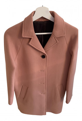 Cos Pink Wool Coats