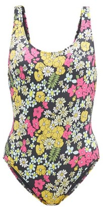 Issimo X Solid & Striped - The Anne Marie Floral-print Swimsuit - Multi