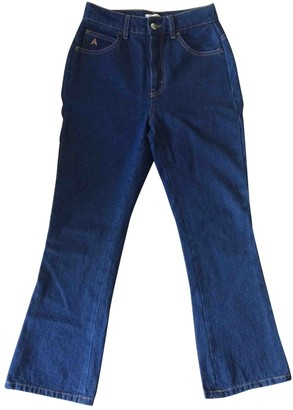 ATTICO Blue Cotton Jeans