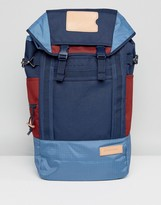 Eastpak Bust Backpack In Merge Mix Blue