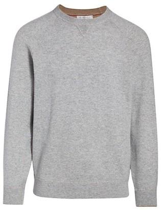 Brunello Cucinelli Cashmere Raglan-Sleeve Pullover