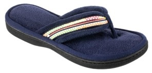 Isotoner Signature Isotoner Women's Microterry Anna Thong Slipper