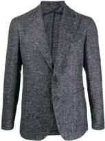 Tagliatore textured wool blazer