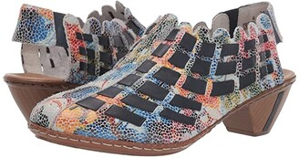 Rieker 46778-91 (Ice/Multi/Ozean) Women's Shoes