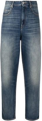 Etoile Isabel Marant High Rise Straight-Leg Jeans