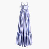 J.Crew Collection Thomas Mason® for tiered ruffle dress