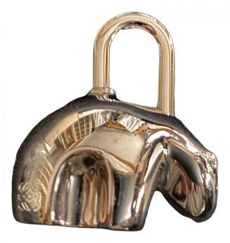 Loewe Silver Metal Bag charms