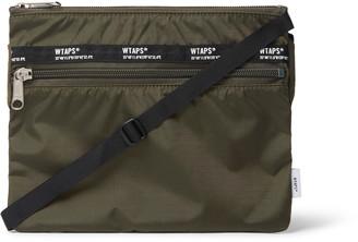 WTAPS Webbing-Trimmed Nylon-Ripstop Messenger Bag