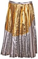 N°21 No21 Metallic Pleated Skirt