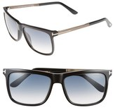 Tom Ford 'Karlie' 57mm Retro Sunglasses