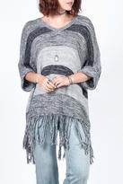 California Moonrise Poncho Sweater