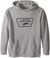 Vans Kids Full Patched Front Pullover Fleece (Big Kids)