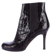 Kate Spade Embossed Ankle Boots