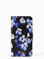 Kate Spade Scattered hydrangea folio iphone 7 plus case