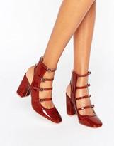 Asos EKLIS Multi Buckle Shoe Boots