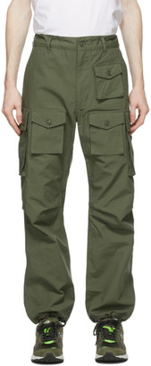 Engineered Garments Green Cotton Ripstop Cargo Pants