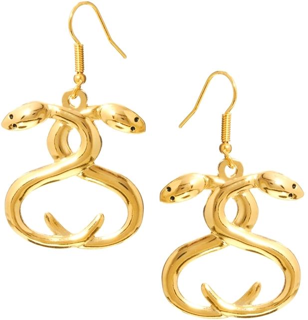 Stussy Snake Charmer Drop Earrings