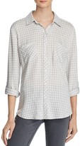 Soft Joie Faline Gingham Shirt