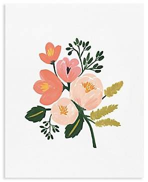 Rose Botanical Wall Art