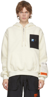 Heron Preston Off-White Polar Fleece HPC Hoodie