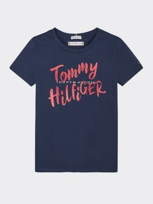 Tommy Hilfiger Double Logo Graphic T-Shirt