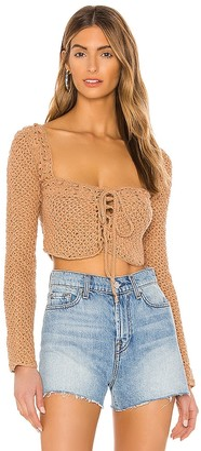 Tularosa Zenith Crochet Sweater