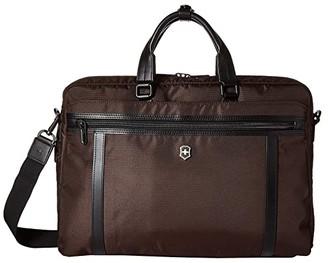 Victorinox 15 Werks Professional 2.0 Laptop Brief (Dark Earth) Bags