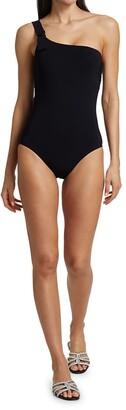 Karla Colletto Swim Maren One-Shoulder One-Piece Swimsuit