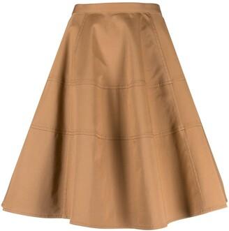 Aspesi flared A-line skirt