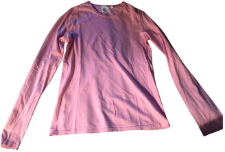 Helmut Lang Pink Cotton Top for Women Vintage