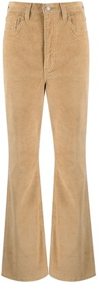Levi's High-Rise Corduroy Flared Trousers