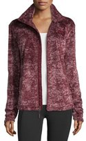 The North Face Novelty Osito Fleece Sport Jacket, Deep Garnet Red Marble
