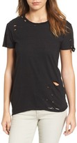 Pam & Gela Women's High/low Hem Tee