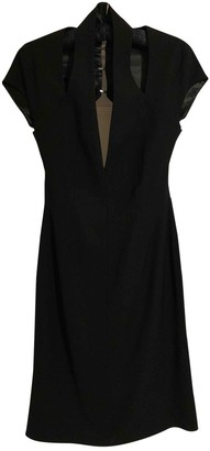 Todd Lynn Black Wool Dress for Women