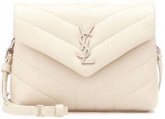 Saint Laurent Loulou Mini leather shoulder bag