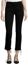 DL1961 Mara Instasculpt Cropped Straight-Leg Jeans, Black