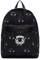 Kenzo Black Multi Eyes Backpack
