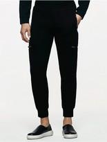 Calvin Klein Platinum Heathered Zip Cargo Pants