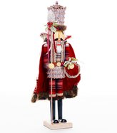 Southern Living Nostalgic Noel Collection Faux-Fur-Trimmed Nutcracker Figurine