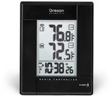Oregon Scientific RMR382-B Wireless Indoor/Outdoor Thermometer with Atomic Clock, Black