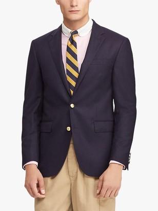 Ralph Lauren Polo Doeskin Wool Blazer, Navy