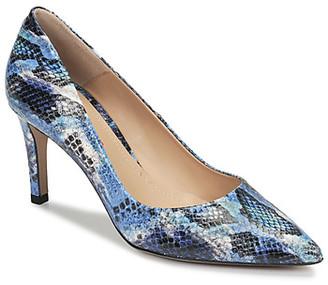 Perlato 10509-SUMATRA-JEANS women's Heels in Blue