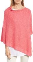 Eileen Fisher Women's Organic Linen & Cotton Poncho