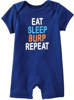 Old Navy Graphic Jersey One-Pieces for Baby