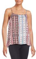 1 STATE Abstract Printed Top
