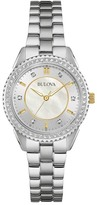 Bulova Women's Mother of Pearl Two-Tone Bracelet Watch