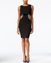 Jax Popover Rhinestone Sheath Dress