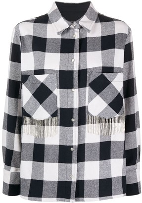 Woolrich Fringed Check Shirt