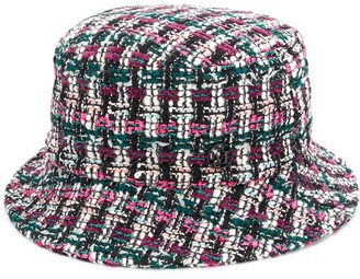 Maison Michel Jason tweed bucket hat